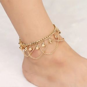 Jewelry - ✨Gold Bead Chain Ankle Bracelet✨